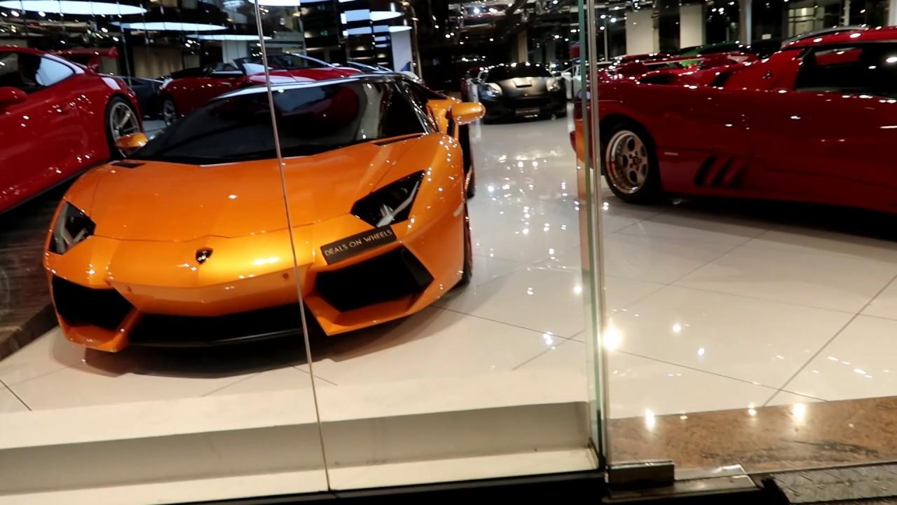 Dubai S Luxury Car Showrooms Youtube