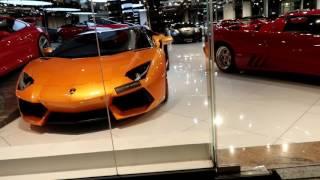 Dubai's Luxury Car Showrooms