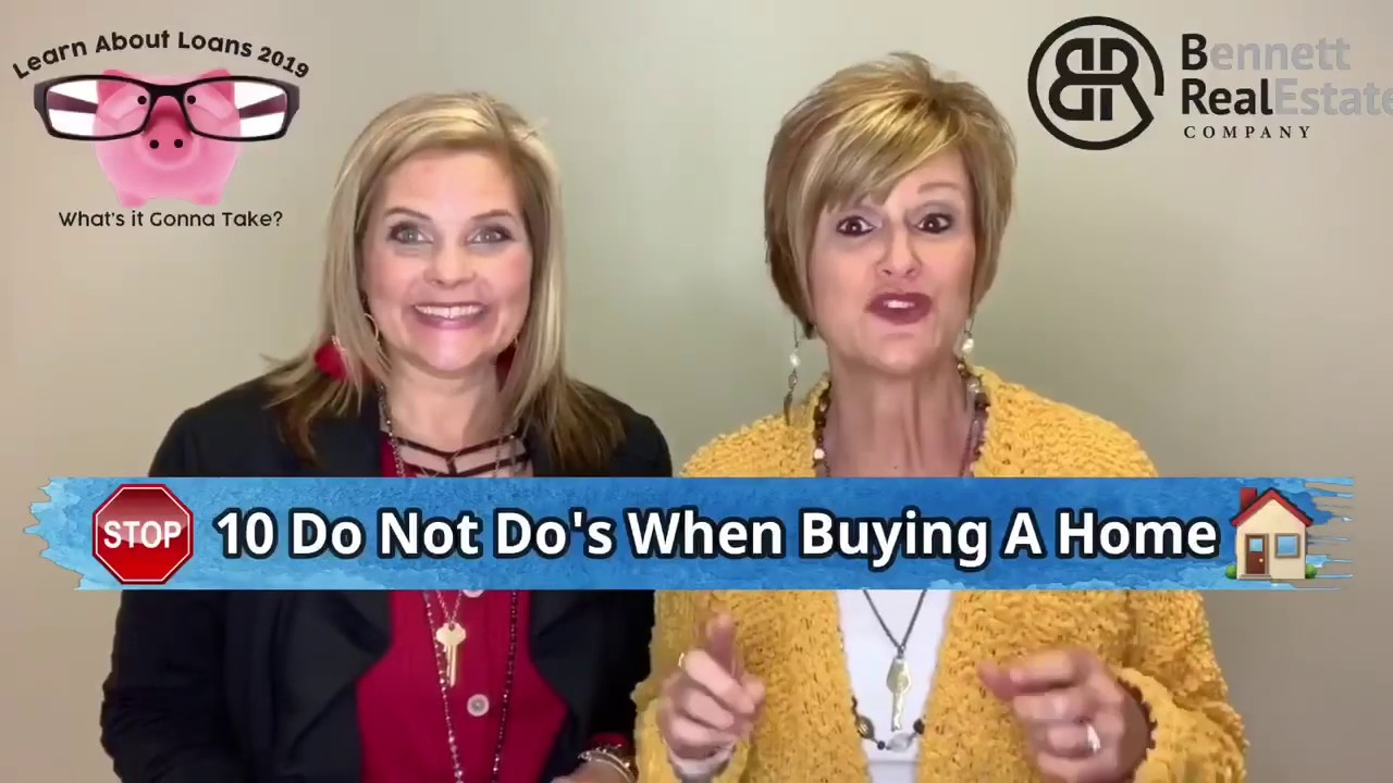 10 Mistakes To Avoid When Buying A Home!