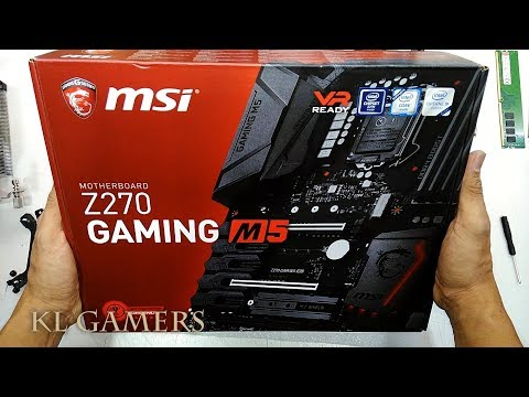 Upgrade From Msi Z270 GAMING PLUS Motherboard To Msi Z270 GAMING M5 Motherboard 2019