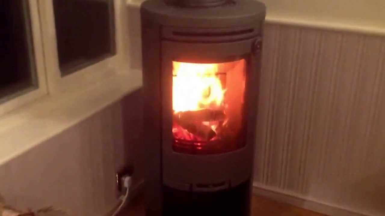 Kaminofen Rondo Test The First Firing Of Our New Stove Contura 510