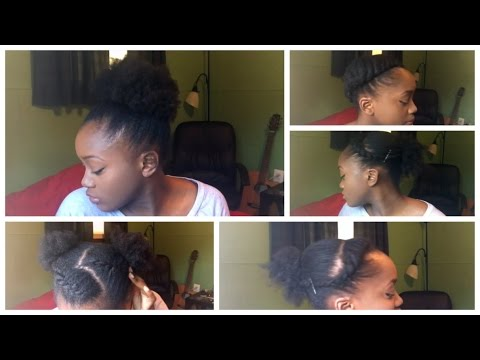 9 HAIRSTYLES FOR SHORT AND THIN NATURAL HAIR.