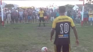 Pênaltis, Palmeiras da Boa Esperança 1(2)x(4)1 Internacional de Aroeiras. - 15/04/2017.