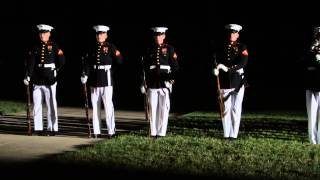 United States Marine Corps Silent Drill Team