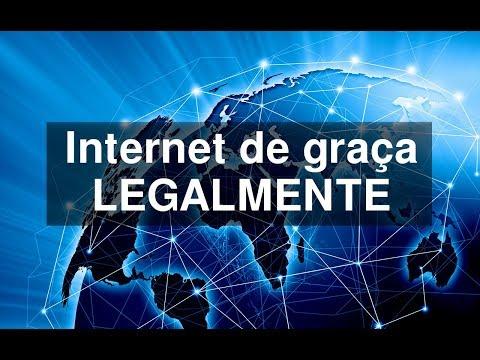 Como Ter Internet De Graça LEGALMENTE