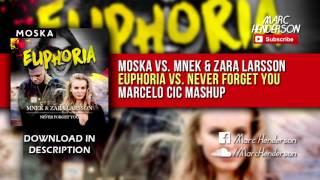 Moska vs. MNEK & Zara Larsson - Euphoria vs. Never Forget You (Tiësto Tomorrowland '16 Mashup) mp3