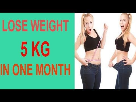 How To Lose Weight Fast At Home In  Easy Steps   Lose Weight 5kg In A Month