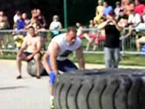 Belgrade sport fest strongman competition