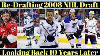 NHL Draft 2008 Top 10 Picks - Re-Drafting NHL Draft 2008