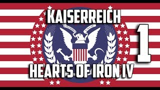 HOI4 Kaiserreich - США/КША (1) Гражданская Война