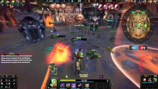SMITE Chaac Arena Night Gameplay