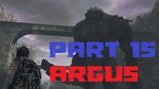 SHADOW OF THE COLOSSUS PART 15: ARGUS (PS4)
