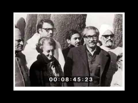 Sheikh Mujibur Rahman 05/ 02 /72 কলিকাতা ভাষন