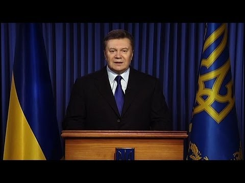 Ukraine protesters have 'crossed the limits': Yanukovych
