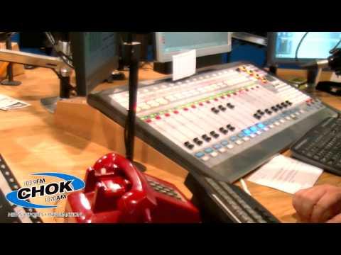 CHOK Studio tour w/ Tony Frangis