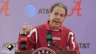 What Nick Saban said 3 days before Alabama plays Tennessee