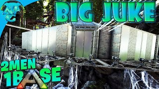 2 Men 1 Base Get JUKED in the Unexpected Boss Base Raid! ARK Survival Evolved 2M1B E13