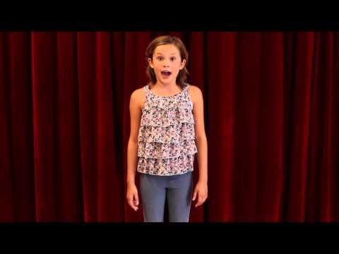 Merrit Grove Musical Theater Audition Reel