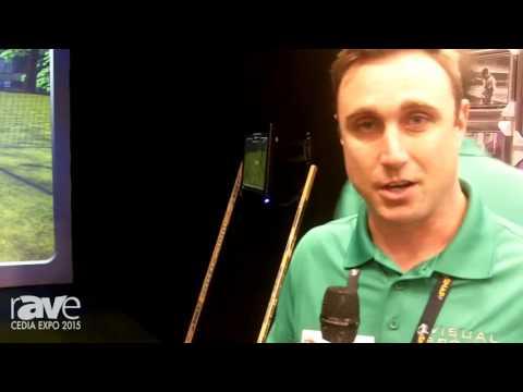 CEDIA 2015: Visual Sports Demos All-in-One VS-10 Multi-Sport Simulator