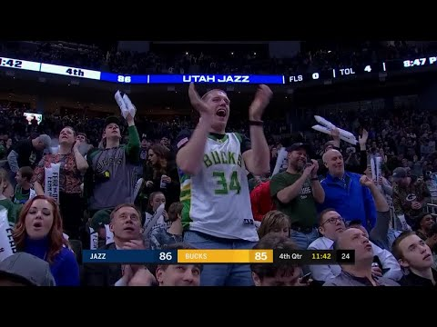 Bucks - Bucks bounce back, beat Jazz 114-102