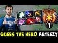 Guess the hero — Arteezy Aghanim COMEBACK