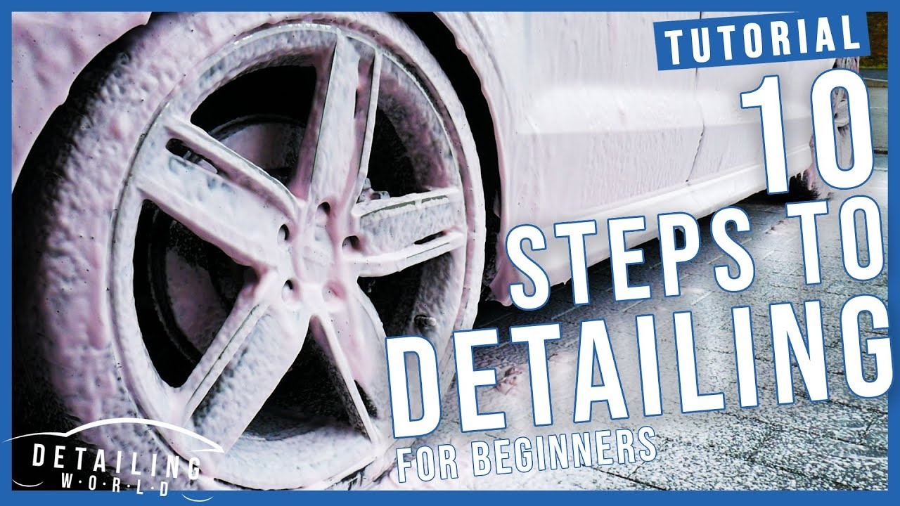 12 Steps Of DETAILING Guide, For Beginners - How To Wash
