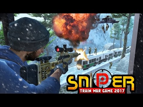Sniper Train War Game 2017 Android GamePlay (By Galassia Studios)