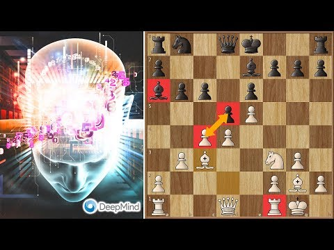 Deep Mind AI Alpha Zero Sacrifices a Pawn and Cripples Stockfish for the Entire Game