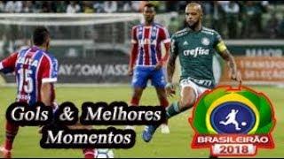 Bahia x Palmeiras - Gols & Melhores Momentos Brasileirão Serie A 2018 25ª Rodada