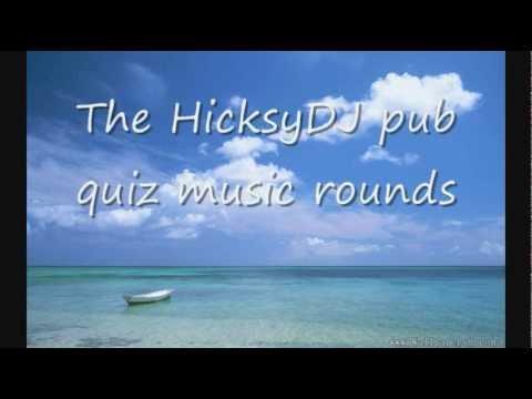 Pub Quiz Music Round. Random Music.