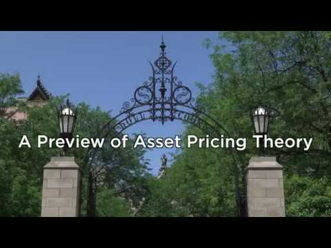 2b.1 A Preview Of Asset Pricing Theory