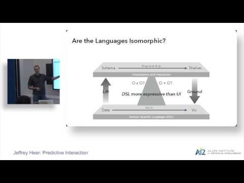 Jeffrey Heer: Predictive Interaction