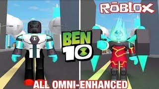 Ben 10 Reboot 'NEW' Omni-Enhanced Aliens Review - Gameplay - Ben 10 Fighting Game ROBLOX