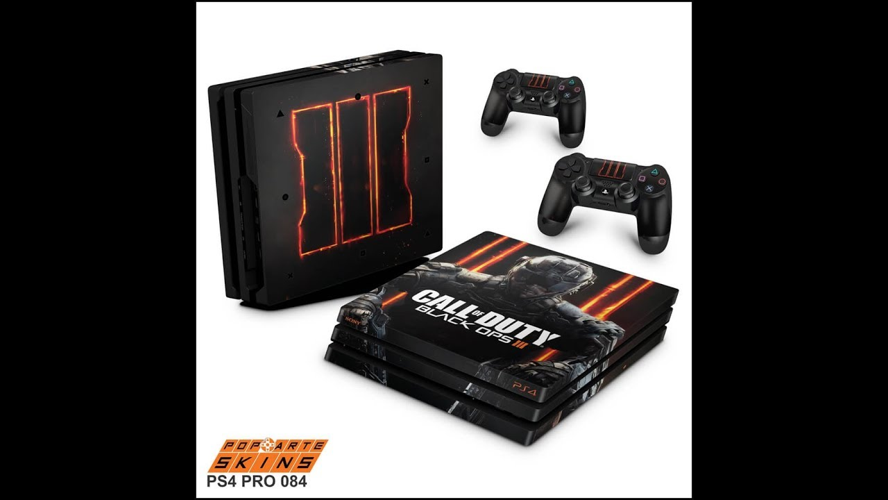 Ps4 pro skin call of duty black ops 3