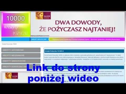 Kredyt gotówkowy 10 000 zł