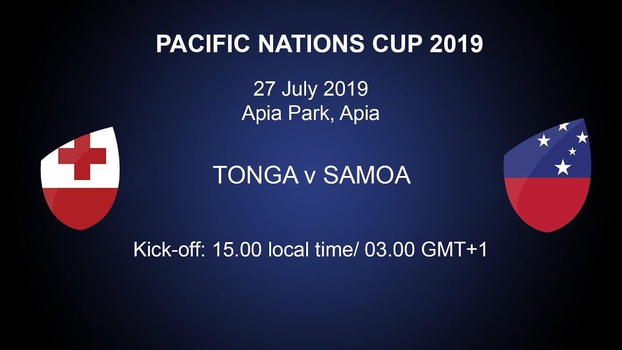 Samoa defeat Tonga in muddy Apia - Americas Rugby News