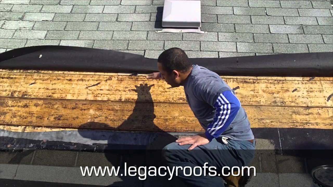 Flat Roof And Shingle Roof Tie In Strathroy Ontario