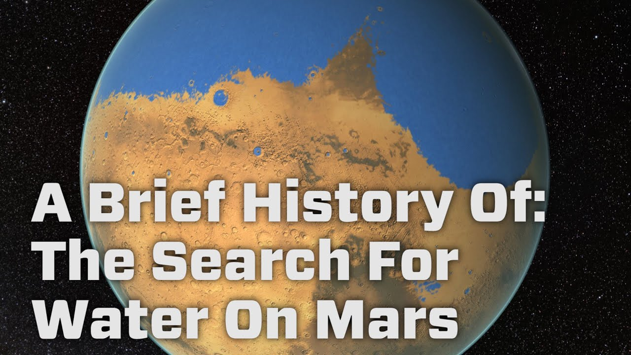 history of water on mars Scientists now have definitive proof that many of the landscapes seen on mars  were indeed cut by flowing water the valleys, channels and.