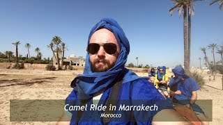 The Best Camel Ride in Marrakech - Morocco | Day 3
