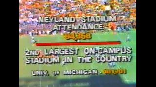 1985 Tennessee vs # 1 Auburn