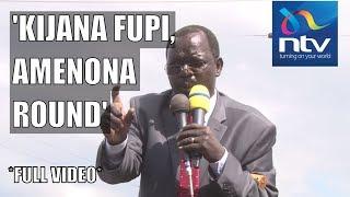 """Kijana fupi round"": Governor Lonyangapuo's hilarious speech |FULL VIDEO"