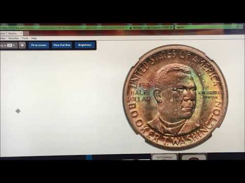 RARE SILVER BOOKER T WASHINGTON WORTH MONEY! COINS TO LOOK FOR!!