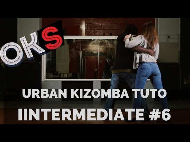 Urban Kizomba Tutorial - Intermediate Move #UI6 🎓 OKS 🎓