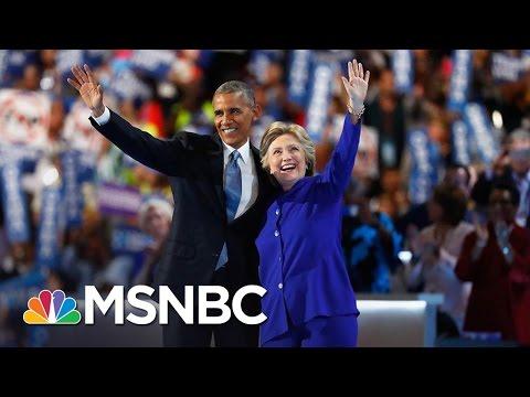 President Obama, Hillary Clinton Return To National Spotlight | AM Joy | MSNBC