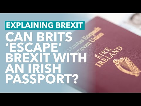 A Million People Apply To Become Irish: Can Brits Escape Brexit? - Brexit Explained
