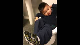 Potty training at its best