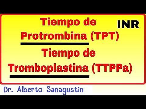 Tiempo de Protrombina (TP) y Tiempo de Tromboplastina parcial activada (TTPa)