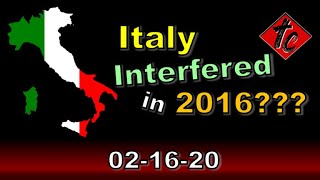 Italy Interfered in 2016??? - Truthification Chronicles