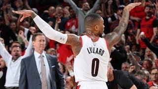Lillard, McCollum Combine 62 Pts Game 2 vs Thunder! 2019 NBA Playoffs