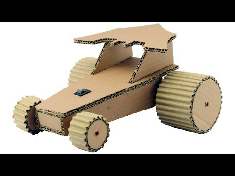How to Make Car for Kids Using Cardboard - Amazing DIY Batman Car
